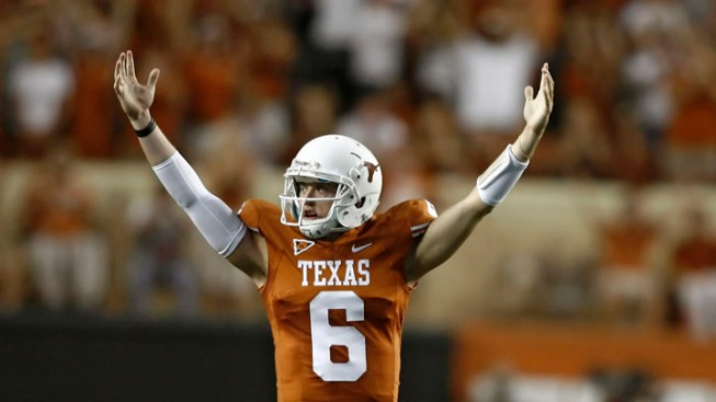 New McCoy Leads Texas Over BYU