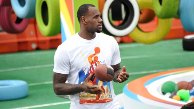 LeBron's Flirtation With The NFL Getting A Little Bit Annoying