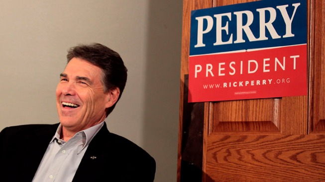 Bain Talk Better Now Than in Fall Race: Perry