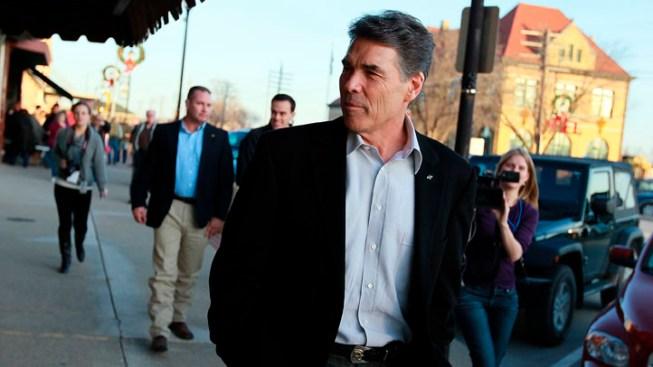 Perry Hitting It Hard In Iowa