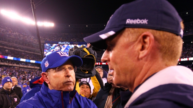 Coughlin Thinks Cowboys Might be on the Upswing