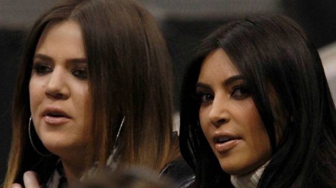 Kim and Khloé Kardashian Reunite in Dallas