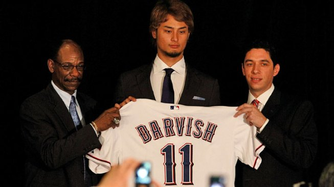 Rangers Have Insurance on Darvish's Deal