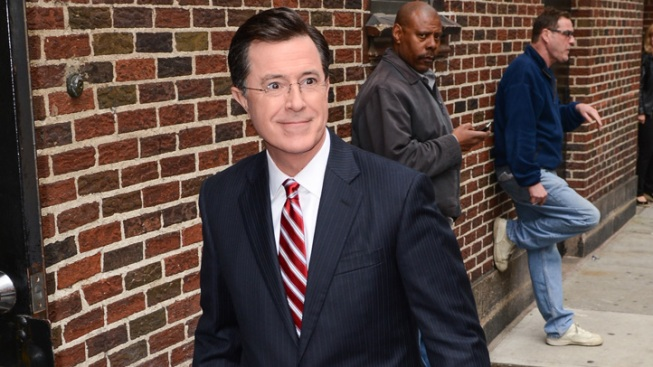 "Colbert to Fordham Students: ""I Love my church"""