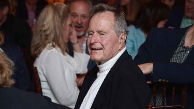 Former President Bush Still Hospitalized