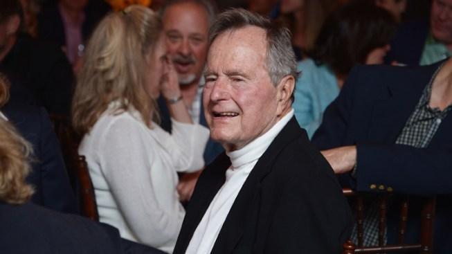 George H.W. Bush Still Hospitalized