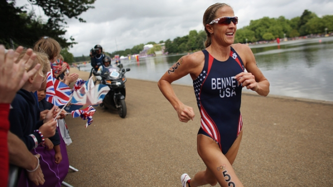 Laura Bennett Crosses Triathlon Finish Line 17th
