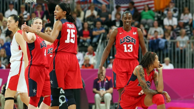 U.S. Women's Basketball Eases Past China, 114-66
