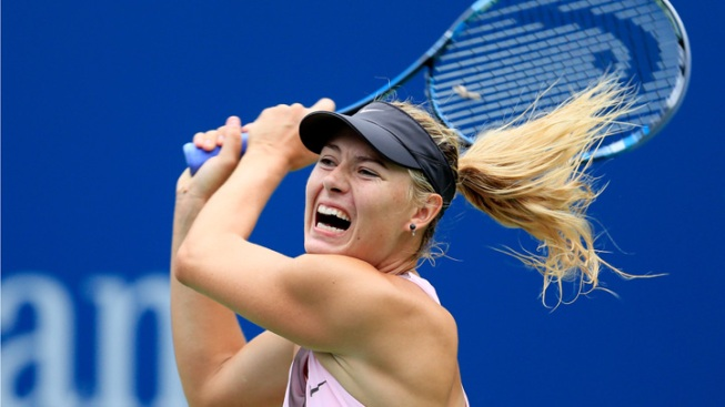 Sharapova Advances to U.S. Open Semifinals