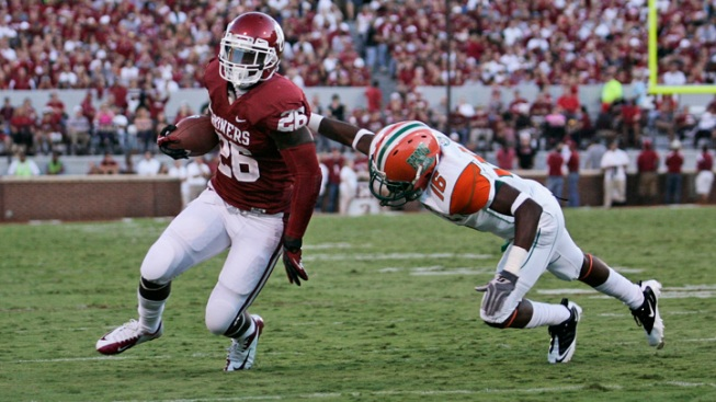 Williams, No. 5 Sooners Run Over Florida A&M