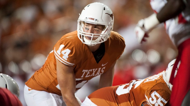 Long TDs Propel No. 17 Texas Over New Mexico