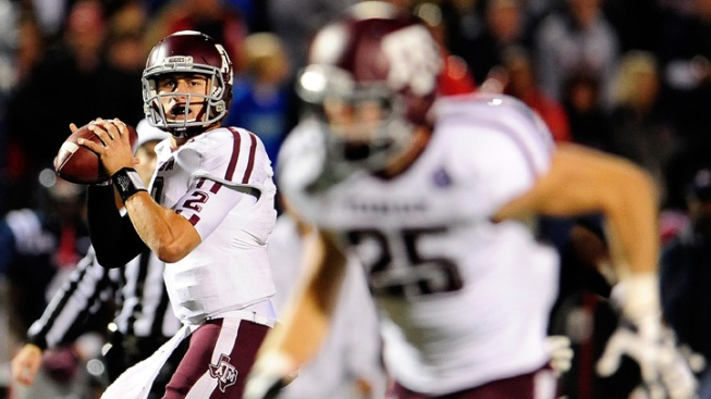 Texas A&M Rallies to Beat Mississippi