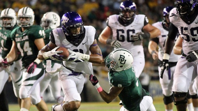 Boykin Throws 4 TDs for TCU in Win at Baylor