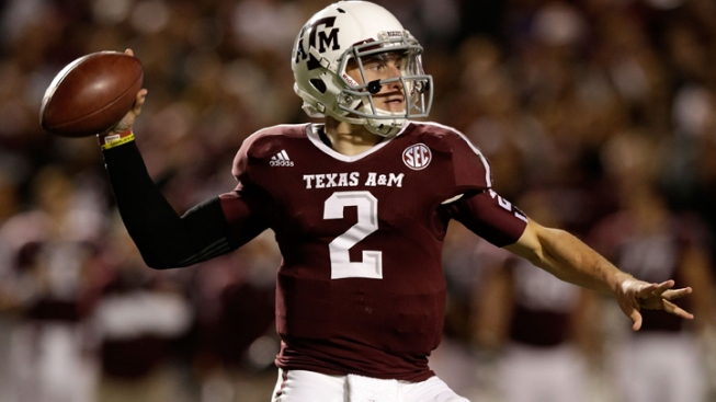 A&M's Manziel Among Heisman Finalists