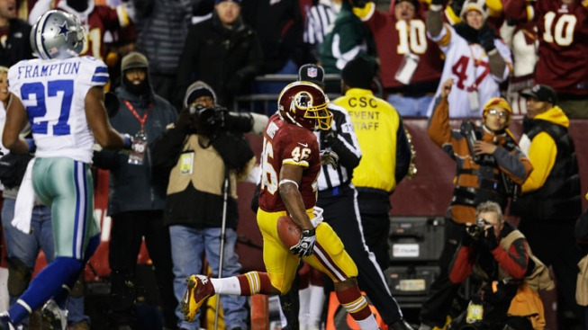 "NFC East Watch: Washington RB Alfred Morris ""Would Love to Return"""