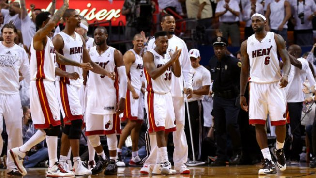 Miami Heat Take Game 1 Over Pacers in OT, 103-102, on Last-Second Shot by LeBron James