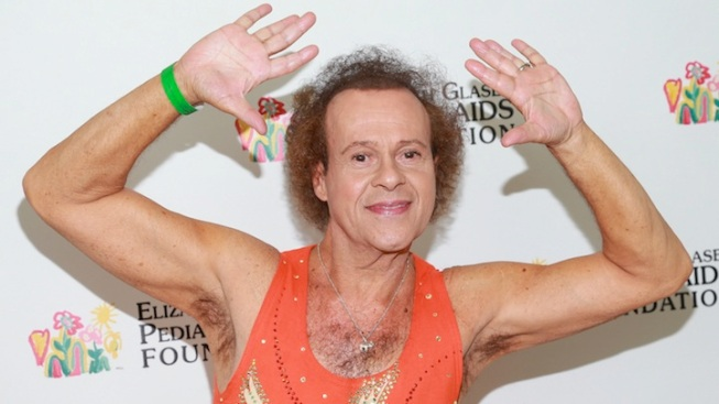 "Richard Simmons Debuts New Music Video ""Hair Do"""
