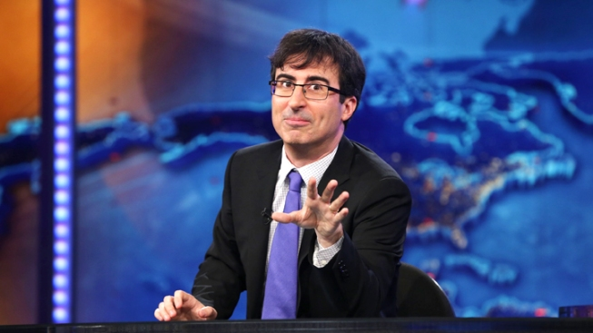 "John Oliver Bids a Teary Goodbye to ""The Daily Show"""