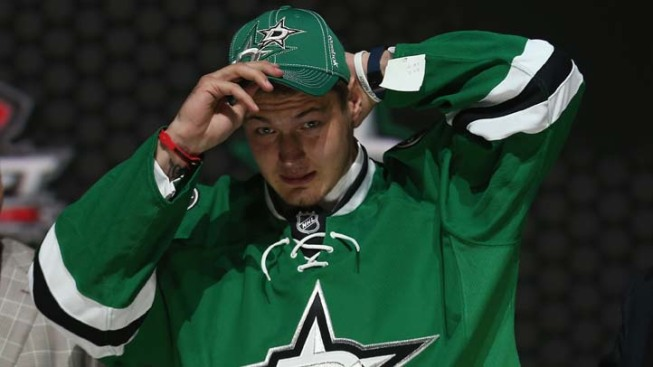 Stars Sign Top Pick to 3-Year Entry-Level Contract