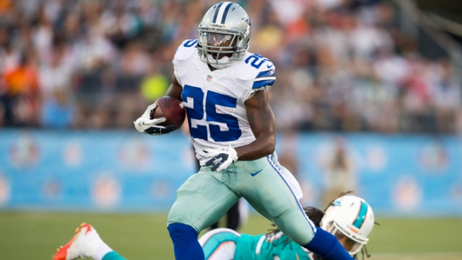 RB Lance Dunbar, P Chris Jones Sign RFA Tenders
