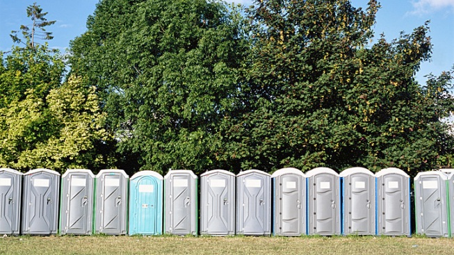 New Year's Blaze Destroys 350 Portable Toilets in San Antonio