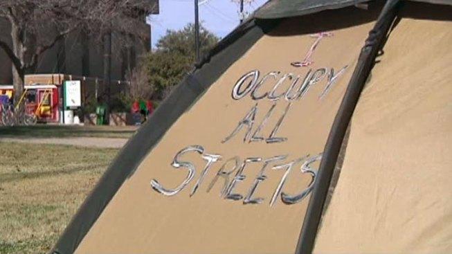 Death at Occupy Denton Campsite