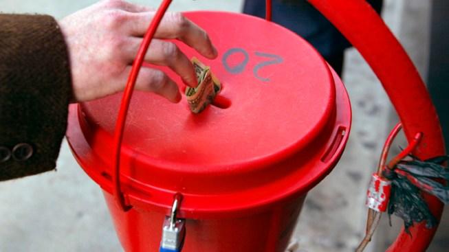 Salvation Army Red Kettle Stolen