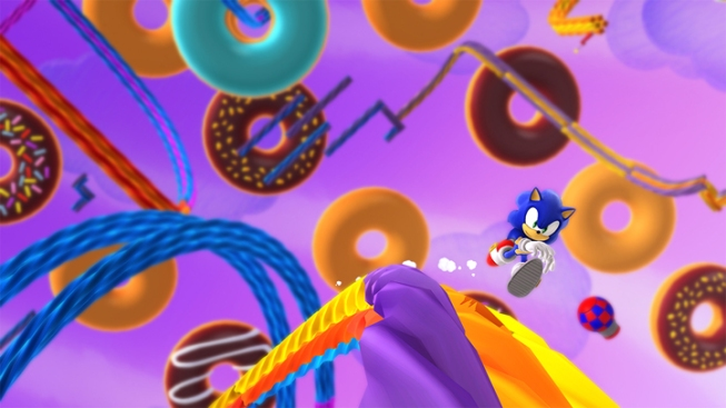 "Sonic Makes Friends With Old Enemy in ""Lost World"""