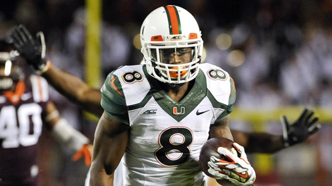 Miami RB Duke Johnson Thinks He'd be a Good Fit in Dallas