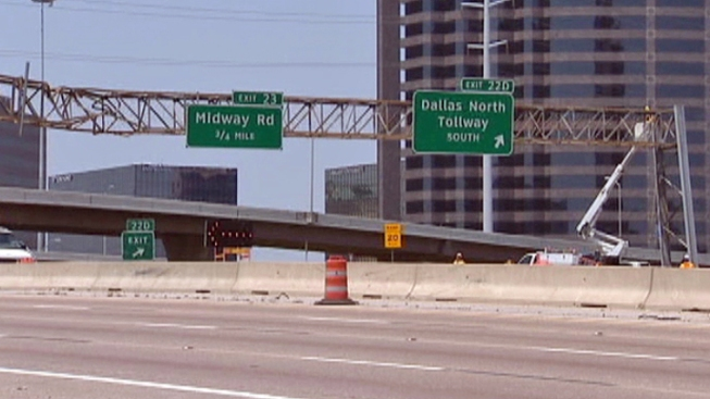 I-635 at Dallas North Tollway Reopens After Crash