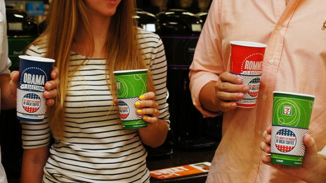 7-Eleven Coffee Drinkers Pick President for 4th Straight Time