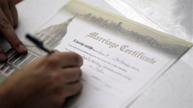 Prop 8 Supporters Ask Calif. Supreme Court to Stop Same-Sex Weddings