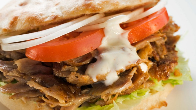 Kebab Saves Slashing Victim's Life