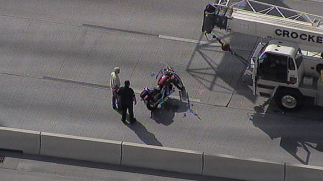 Fatal Motorcycle Crash Closes US 75 - NBC 5 Dallas-Fort Worth