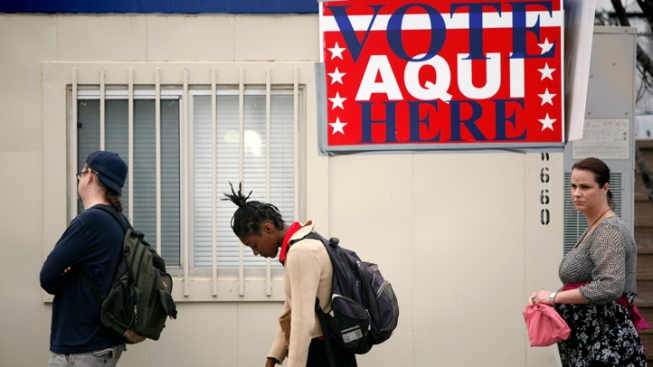 GOP Pushes Voter ID at Polls Across U.S.