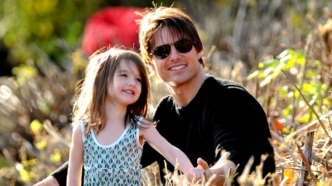 Tom Cruise and Suri Reunite in NYC