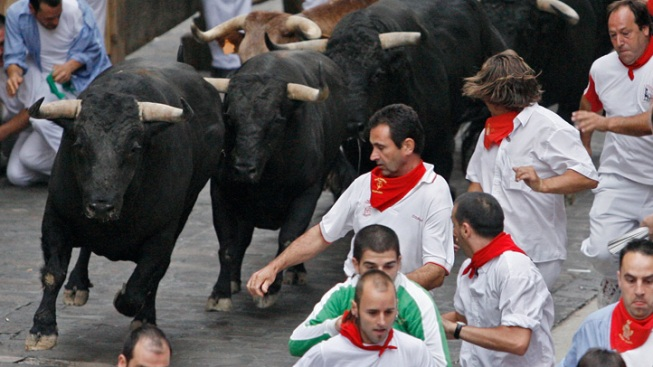 Inspired by Pamplona, Great Bull Run Coming to U.S.
