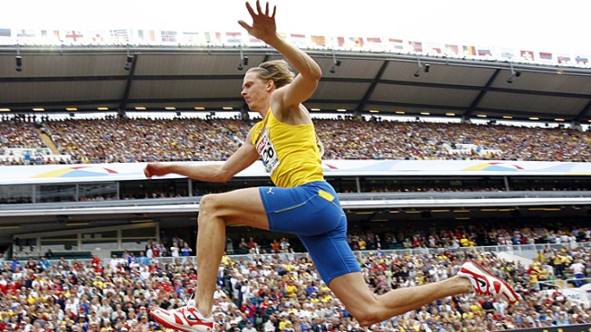 Swedish Triple Jump Champ Olsson Retires over Injuries