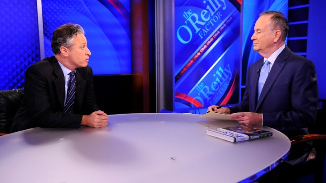 O'Reilly, Stewart to Tangle in Mock Debate