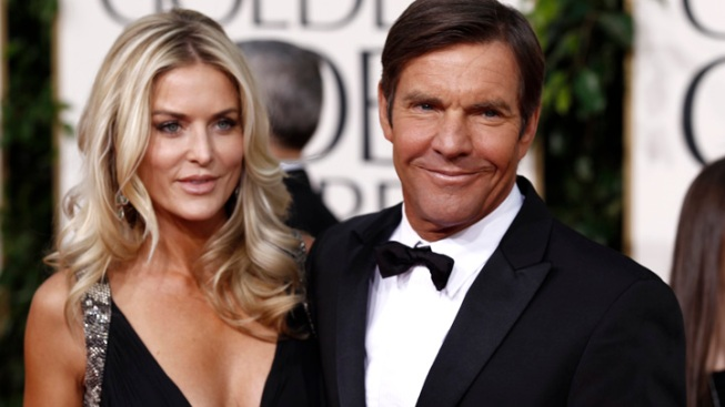 Dennis Quaid Files for Divorce, Asks for Joint Custody of Twins