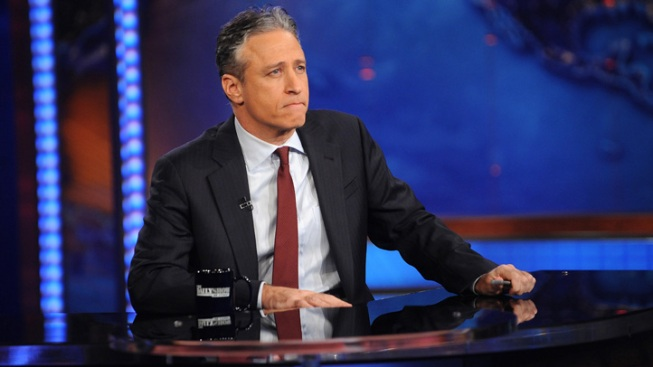 Jon Stewart Lampoons Obama's Open-Mic Gaffe