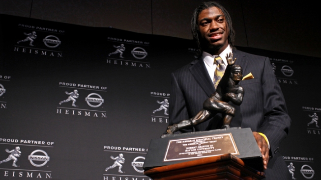 Robert Griffin III Wins 2011 Heisman