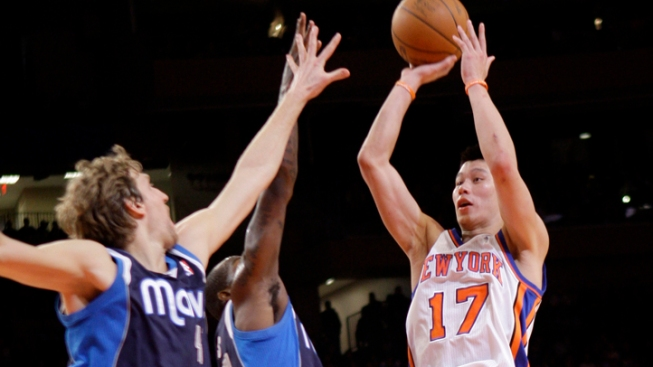 Knicks Lin-Stoppable Against the Mavericks