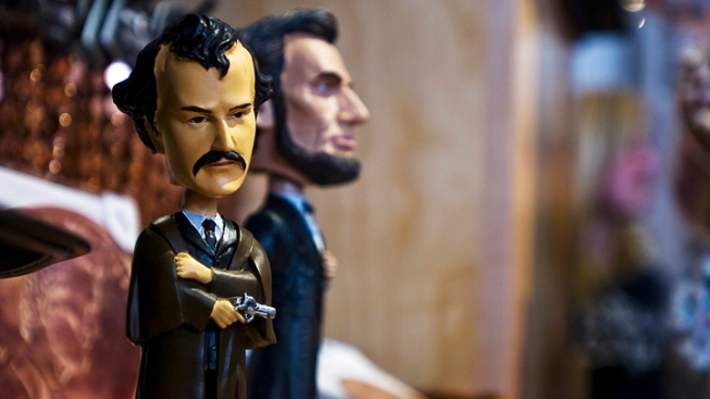 John Wilkes Booth Bobbleheads Pulled From Gettysburg Giftshop