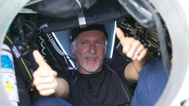 James Cameron Reaches Deepest Spot on Earth