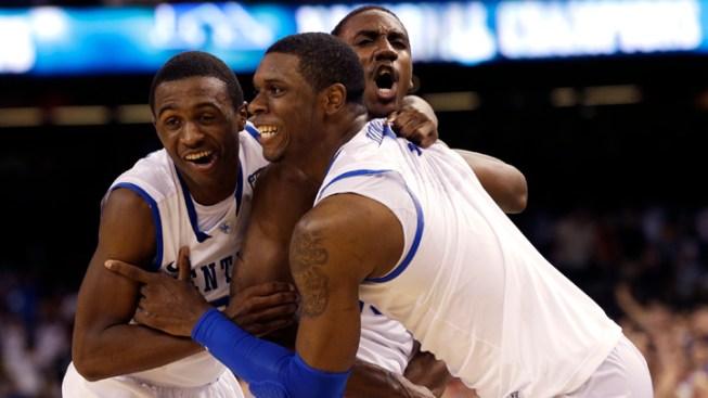 Kentucky Beats Kansas For NCAA Championship