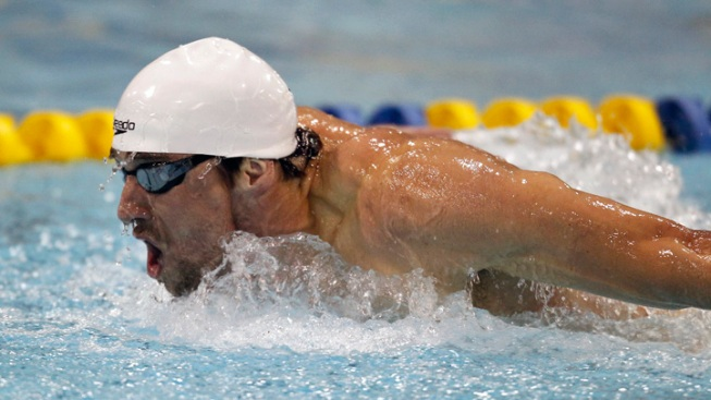 Michael Phelps Wins Butterfly, Loses Freestyle Race