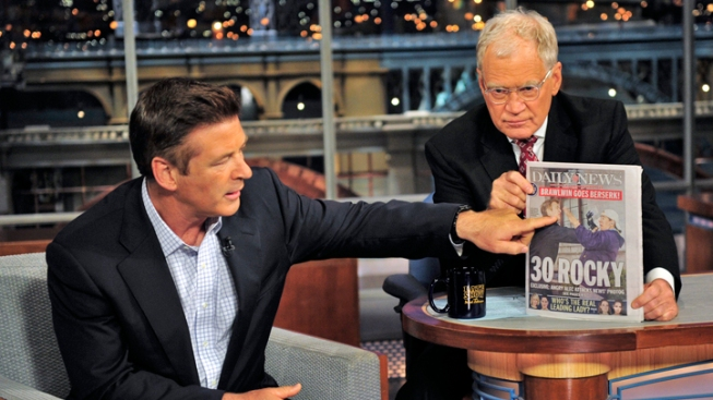 "Alec Baldwin Drops Pants, Talks Photog Fracas on ""Letterman"""