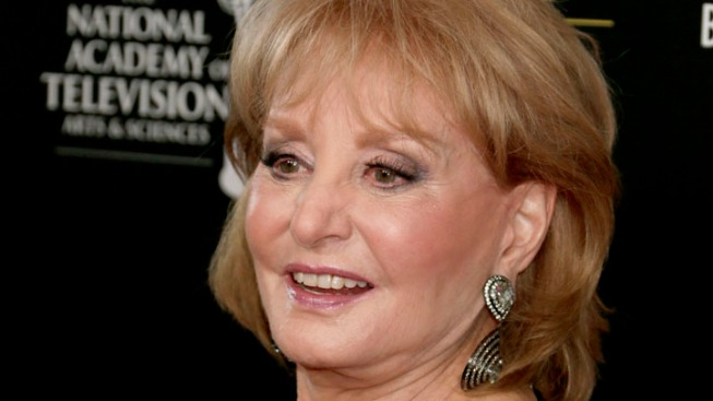 Barbara Walters Hospitalized After Fall