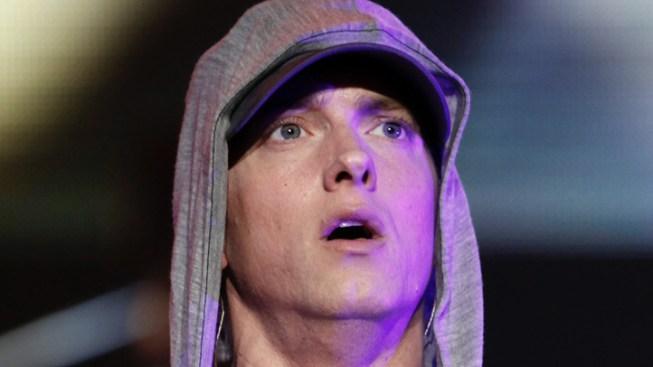 Eminem Makes Puzzling Appearance on ESPN